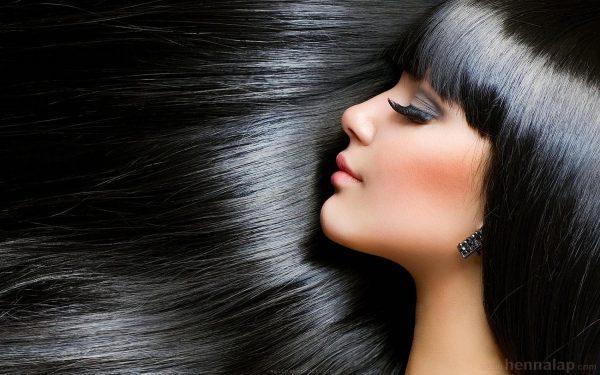 Fekete hajfestés hennával
