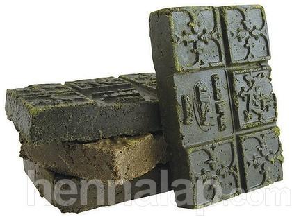 Tea-brick henna